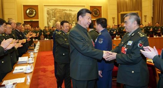 四年四次下团,习近平和解放军代表谈了什么?